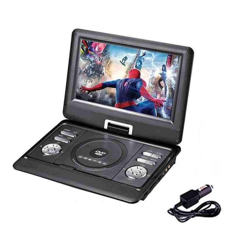 Portable Dvd Player, With 9.8 Inch  And Battery Powered, Au Plug