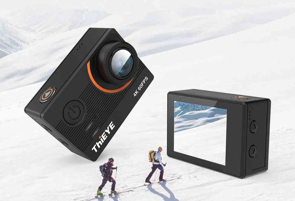 4k Ultra Hd  Action Camera , With 6 Axis Stabilizer And Remote Control