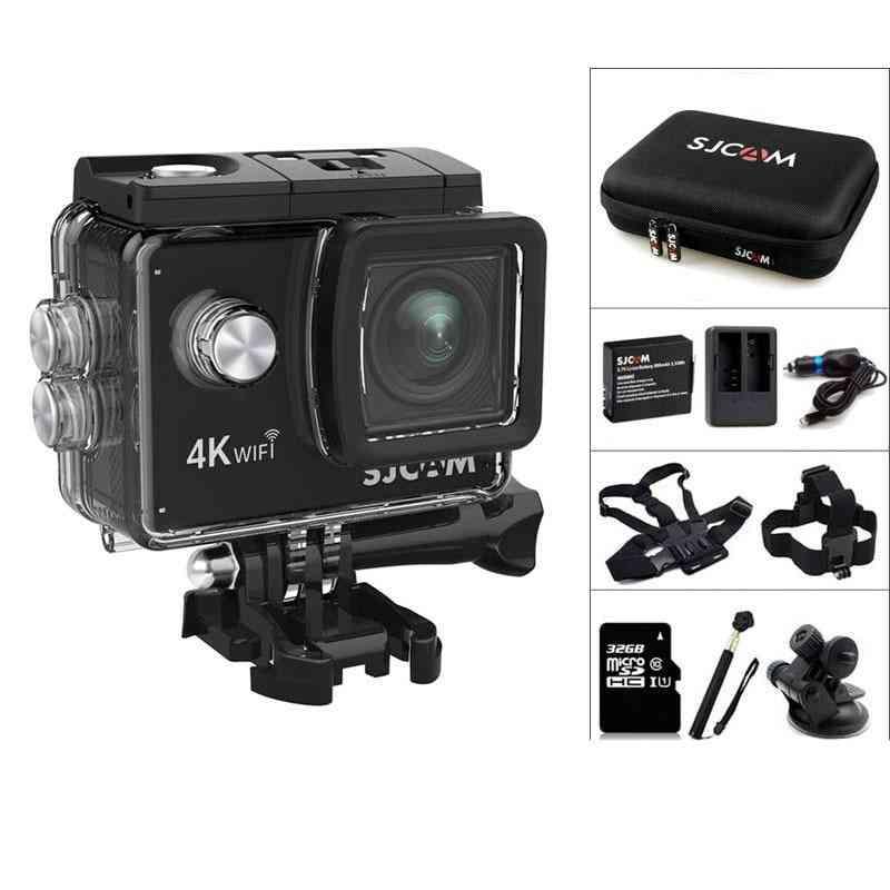 4k Wifi 2.0 Inch Lcd Screen, Waterproof 16mp Action Camera