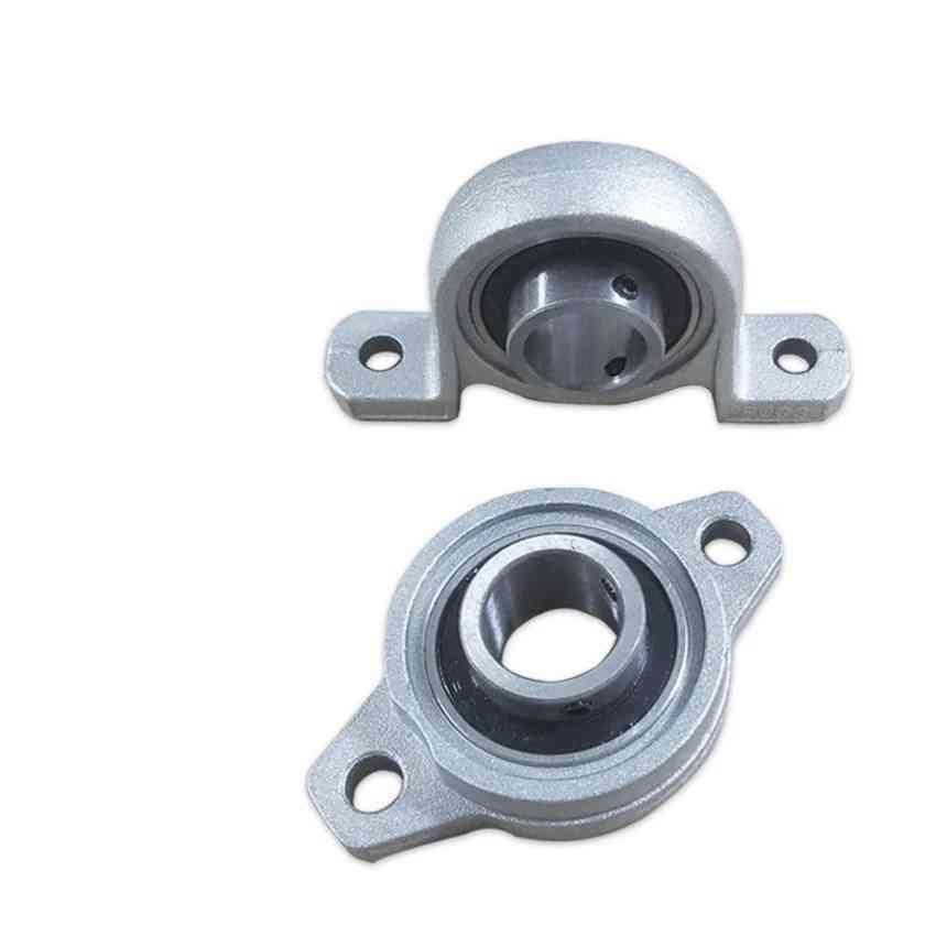Bearing Insert Shaft Support, Spherical Roller Zinc Alloy Mounted Bearings Pillow Block