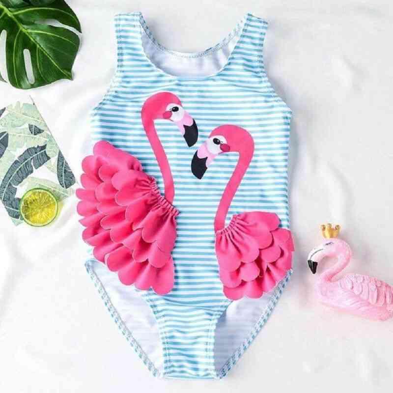 3d Patchwork Striped Lovely Bikini- Swimwear Bathing Swimsuit Beach For