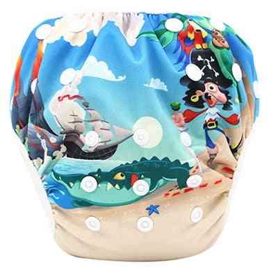 Infant Swimming Trunk Swim Diaper Swimsuit, Newborn Baby Girl Swimwear