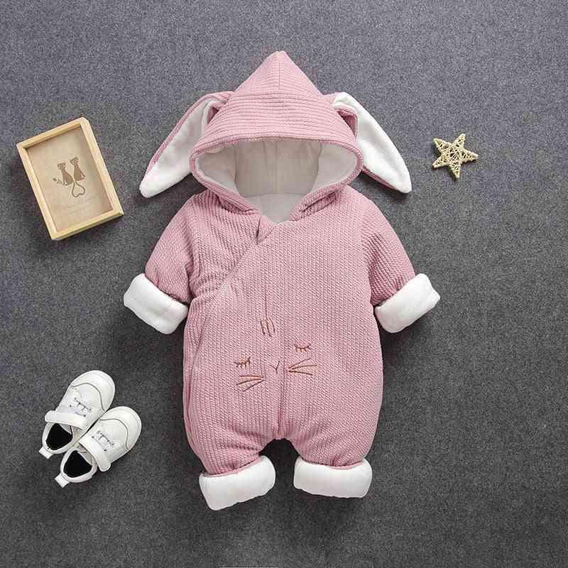 Newborn Baby Autumn & Winter Coat, Boy / Girl Warm Romper Down Cotton Jackets Bodysuit