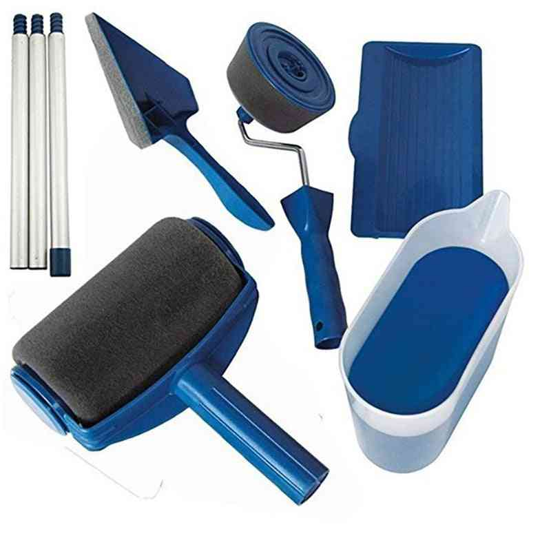 Multi-functional Household Painting Roller And Brush Set