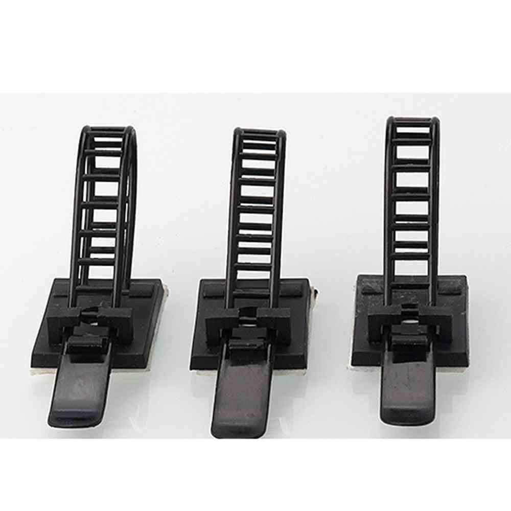 Cable Clips Clamp For Wire Tie Mount