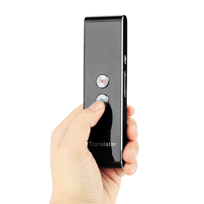2 Way Talking Mini Smart Voice Speech Bluetooth Translator