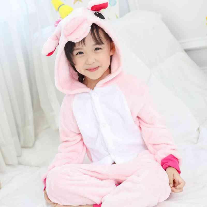 Winter Sleepwear & Pajama, Unicorn Design Set-2
