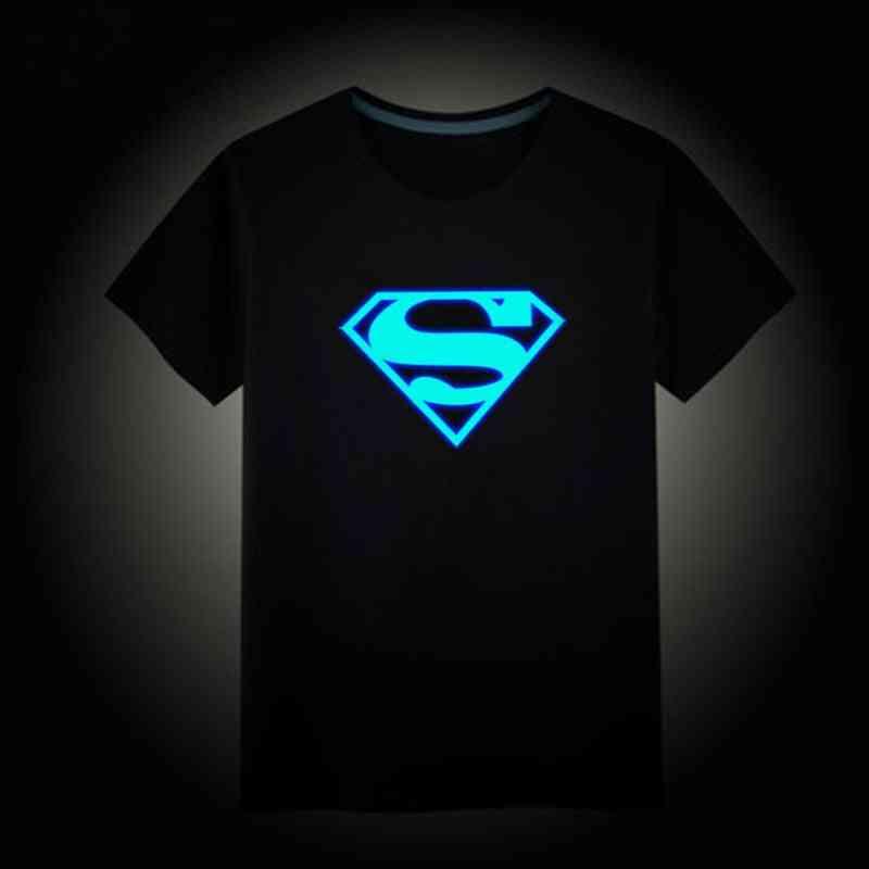 Christmas / Luminous Short Sleeves T-shirts,'s 3d Cartoon T Shirt Baby Girl Tops, Kids Tees Costume