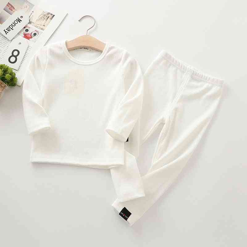 Ribbed Fitted Pajamas, / Top And Pant Set