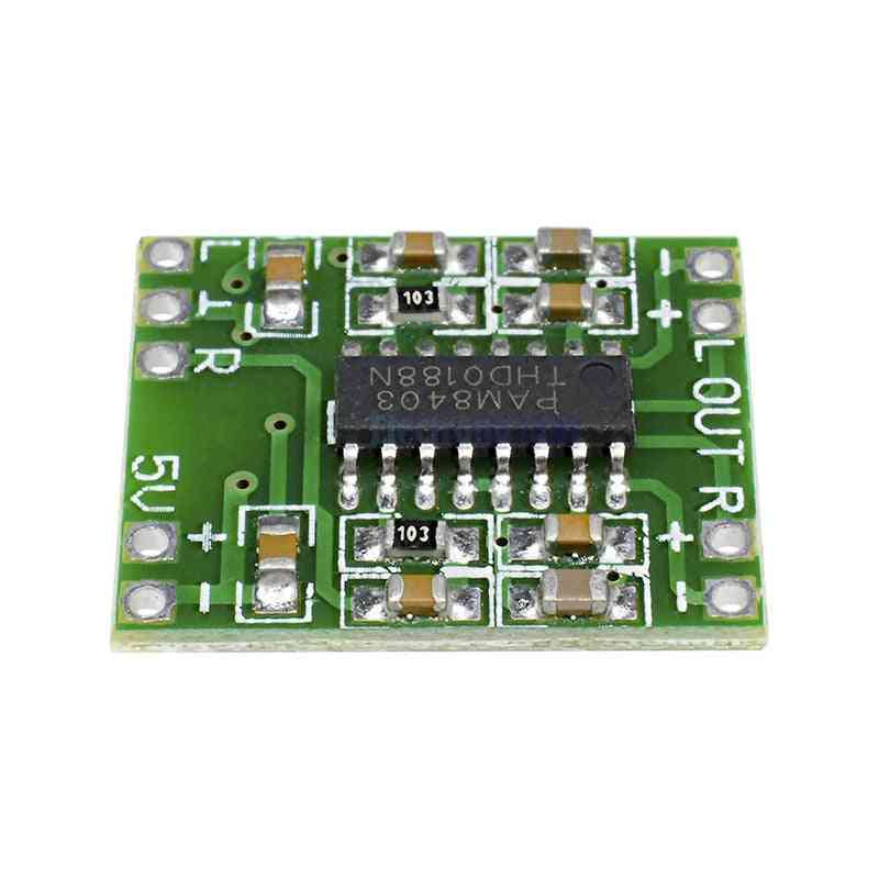 2x3w Mini Digital Power Amplifier Board, For Class D Stereo Audio Amplifier 2.0 Channel