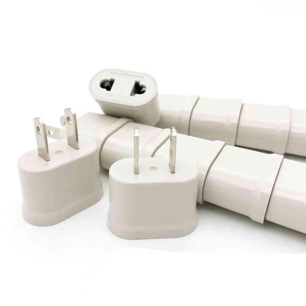 Us Eu Europe  Power Plug Adapter -charger Converter