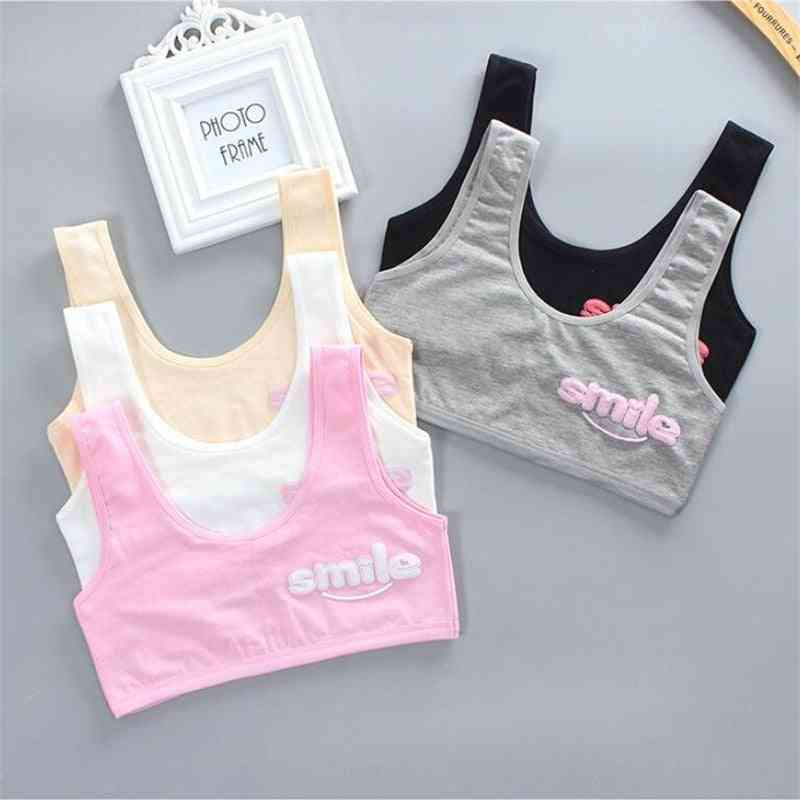 Teen Girl Cotton Spandex Sport Bra