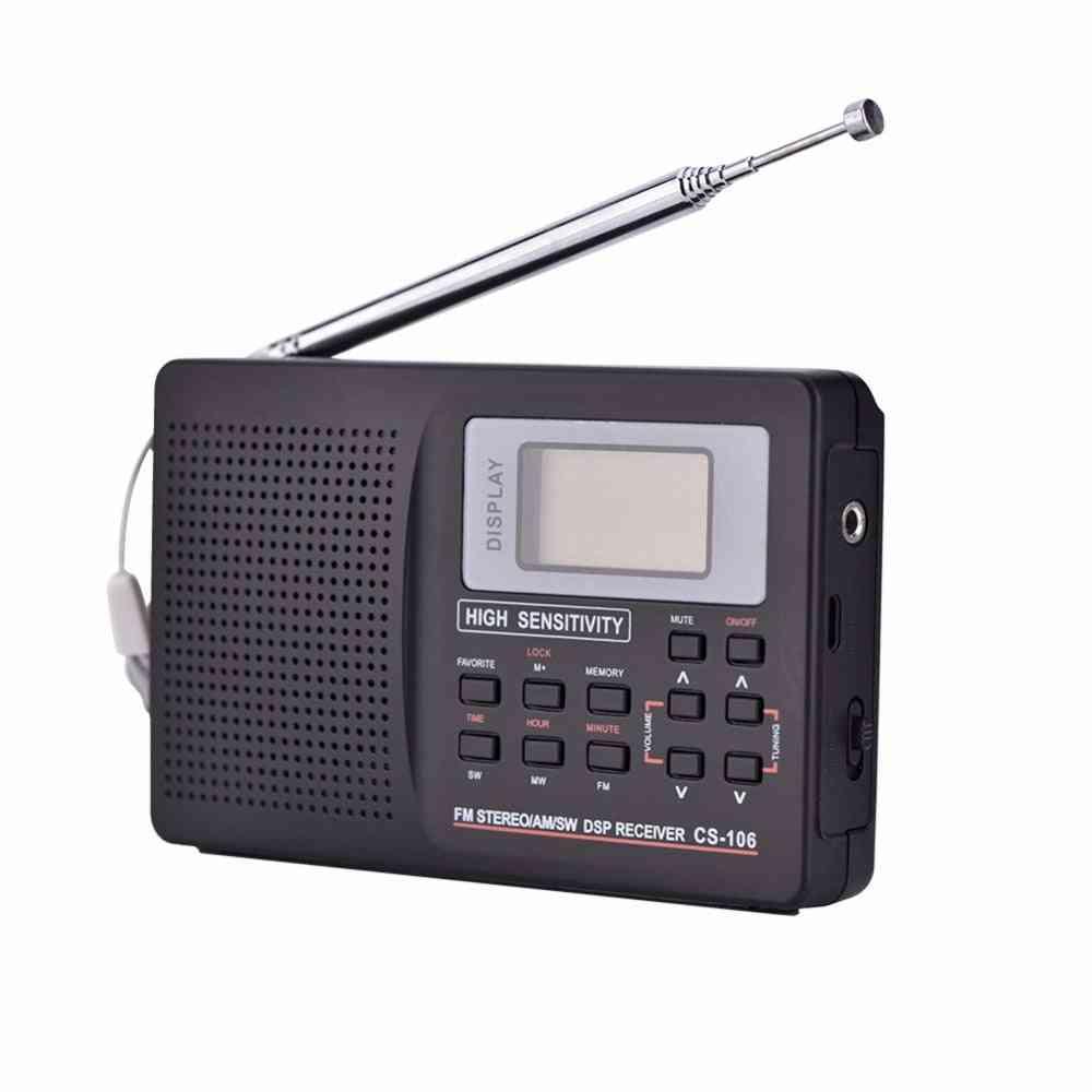 Am/sw/lw/tv/fm- Sound Full Frequency Receiver Radio