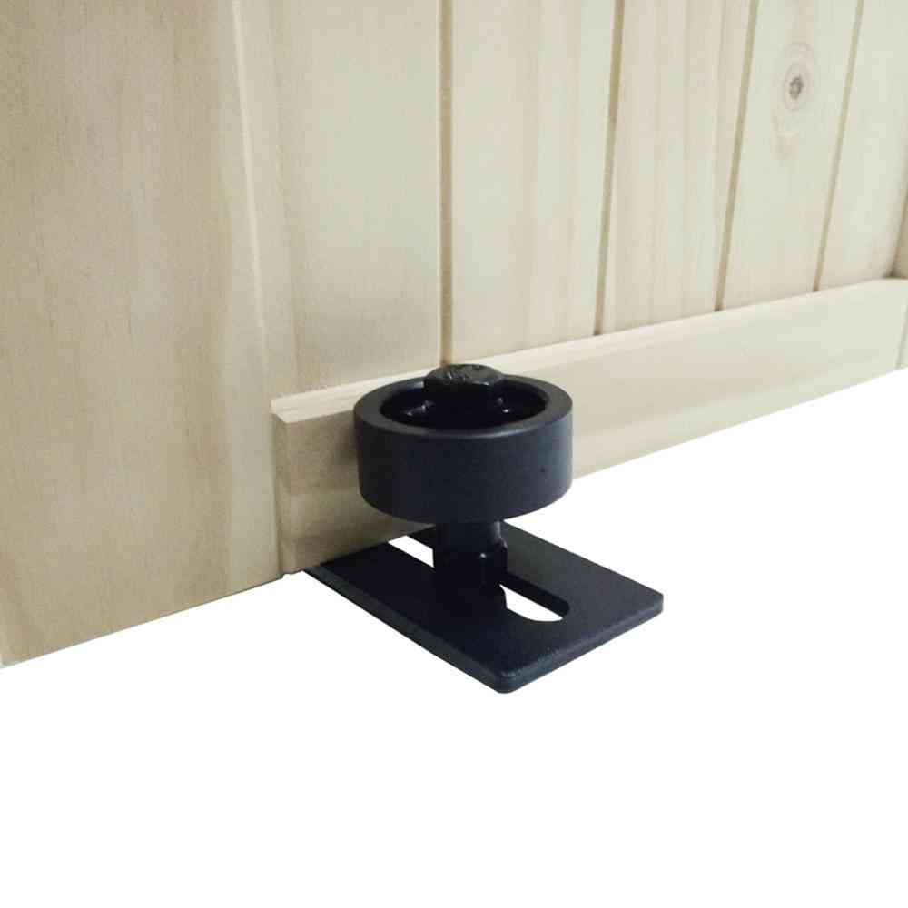 Carbon Steel Adjustable, Powder Coated Bottom Floor Guide Stay Roller Barn