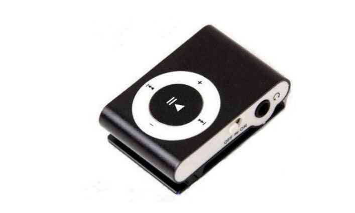 Mini Mp3 Player With Clip On Back