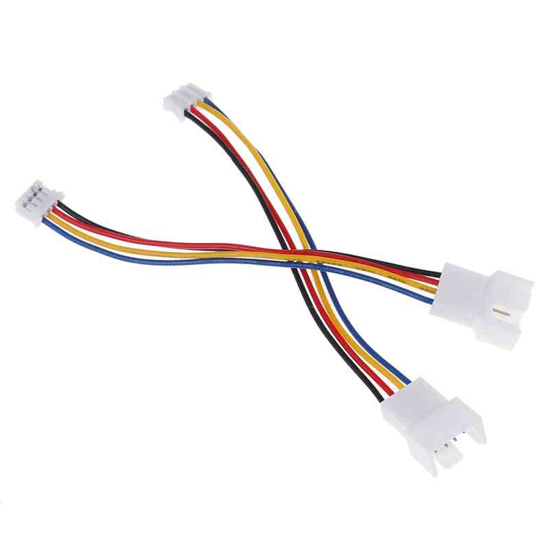 Universal 4 Pin To 3pin Fan Pwm Connector Extension Cables