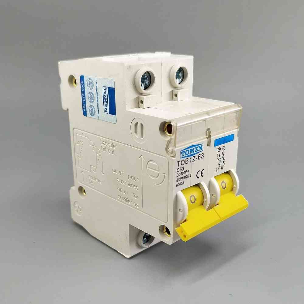 Dc Circuit Breaker-permanent Magnetism Arc System