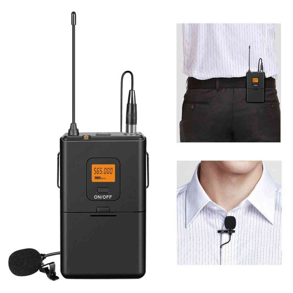 Mini Lapel Mic & Portable Receiver