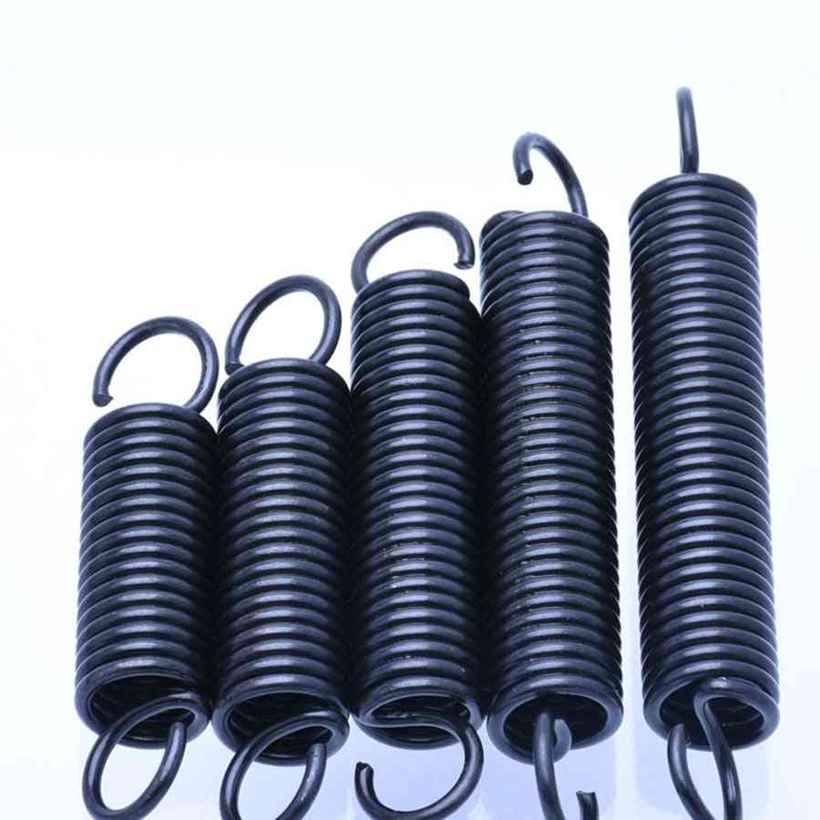 Steel Tension Spring With Hooks, Small Extension Outer Diameter Wire