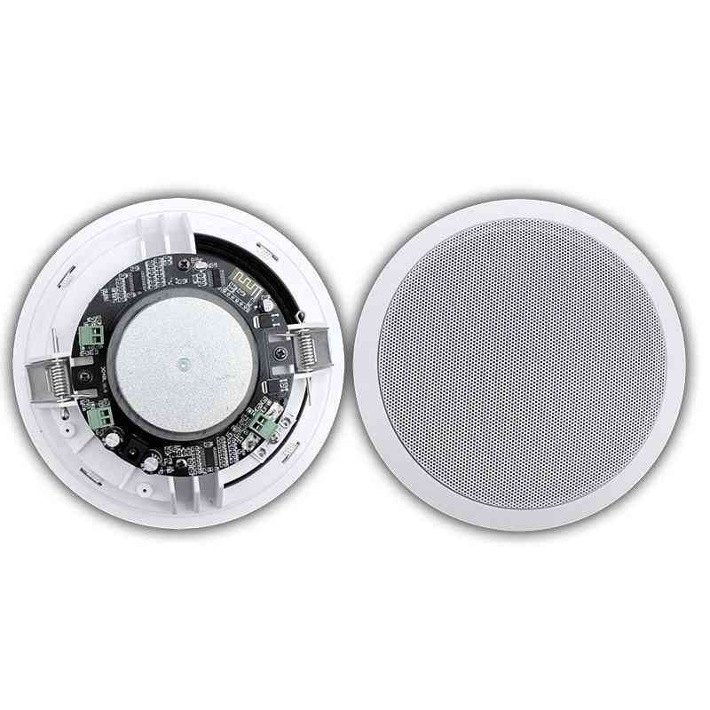 30w Dustproof Smart Bluetooth In Ceiling Active Surround Sound Speakers