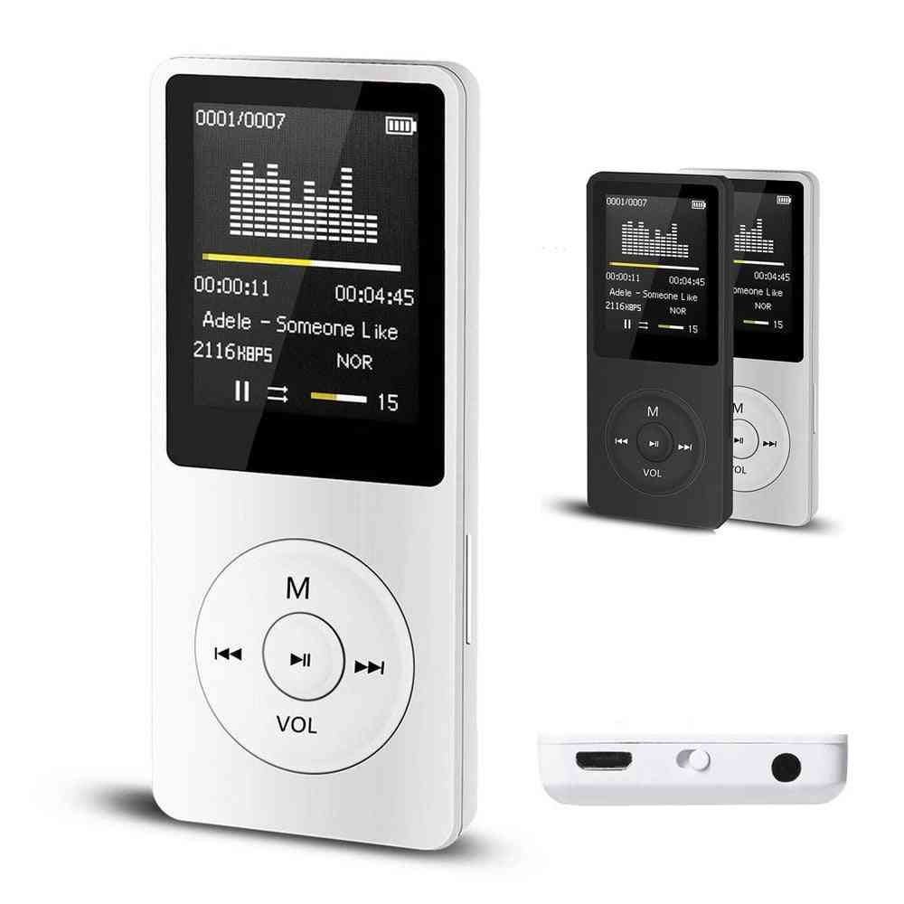 Usb Charging Music Video Mp3/mp4 Player-1.8-inch Tft Display