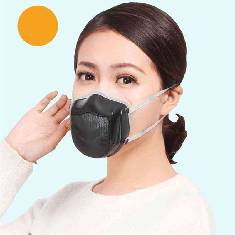 Electric Face Mask, Anti-haze Sterilizing With Filter- Germ Protection Respirator