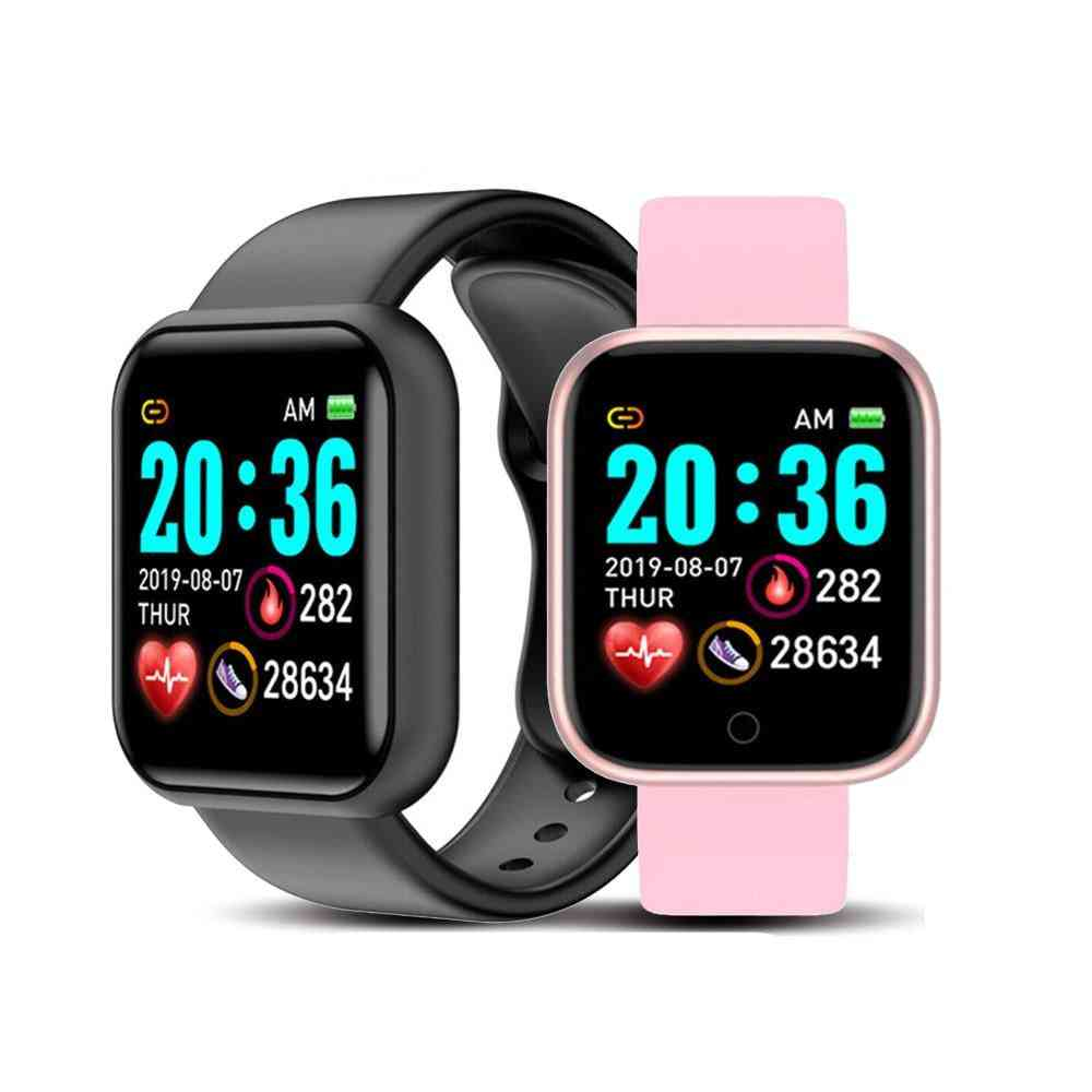 Unisex Smart Watch, Bluetooth, Blood Pressure Monitor For Ios Android