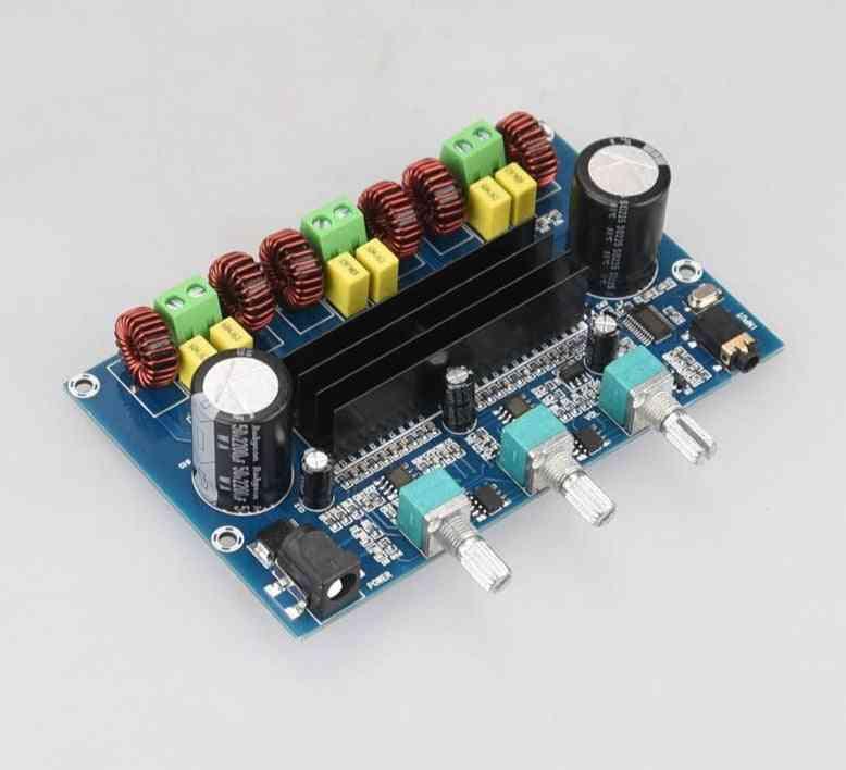 Digital Amplifier Board, Bluetooth 5.0 Volume Tones 2.1 Channel Stereo Class D 100w*2+50w ,speaker Audio