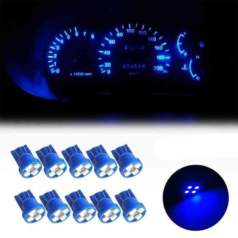 5pcs Of  T10 Led, Light -bulbs With 4 Smd Leds (5w/12 V)