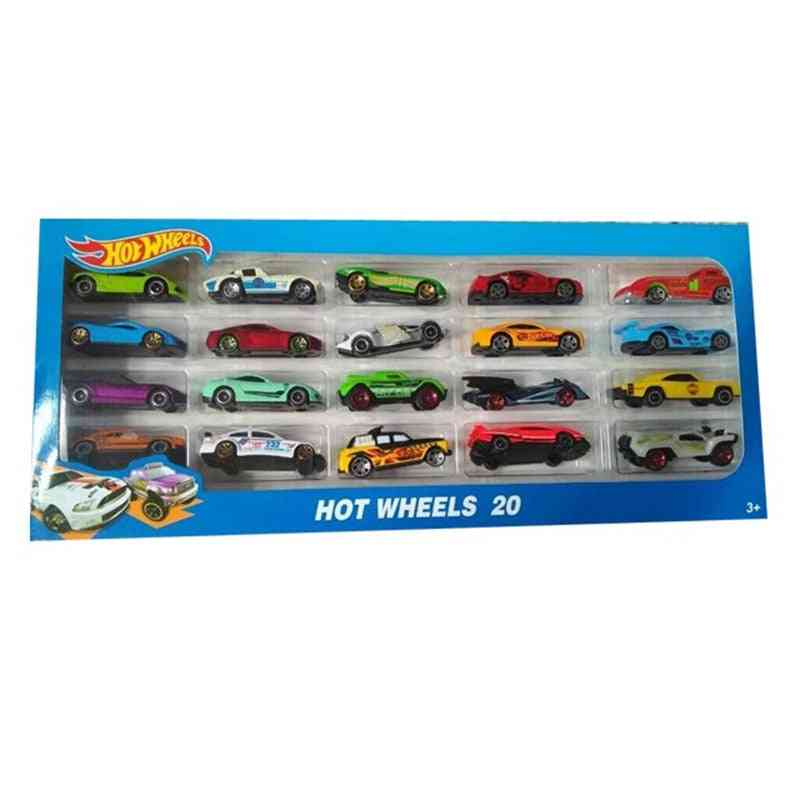 Metal Alloy Diecasts Sports Wheels Cars Toy Set