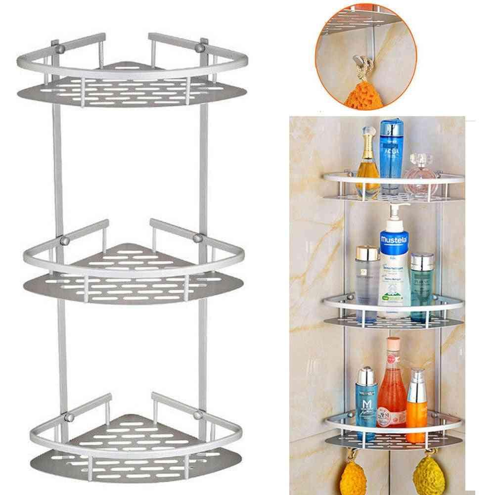 Tier Corner Storage Holder, Shelves, Bathroom Shampoo Shower Kitchen Storage Rack