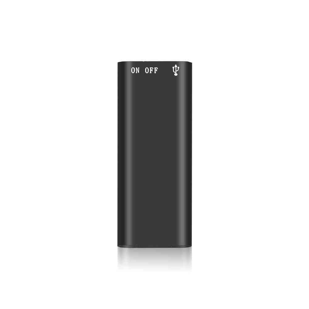 8g Mini Digital Audio Voice Recorder, Dictaphone Stereo Mp3 Music Player 3 In 1  (8gb)