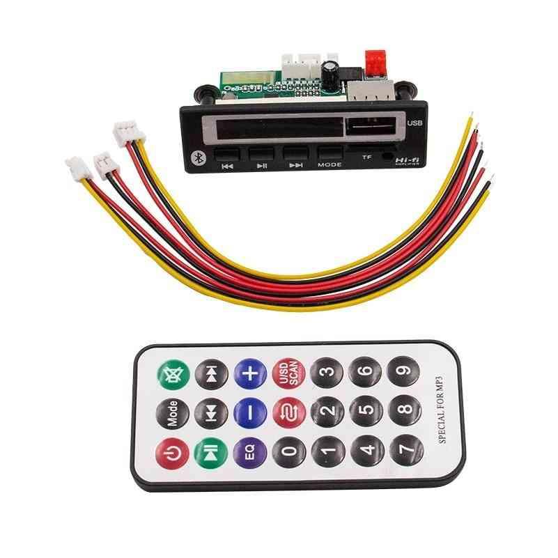 Decoder Board  With Remote Control, Audio Usb Tf Fm Radio Mp3 Module