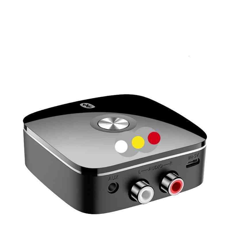 Bluetooth Receiver 5.0 Wireless, Auido Music 3.5mm Rca Aptx Ll Low Latency