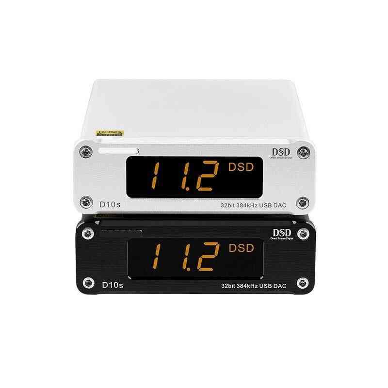 Mini Digital Usb Dac-audio Hifi Decoder D10