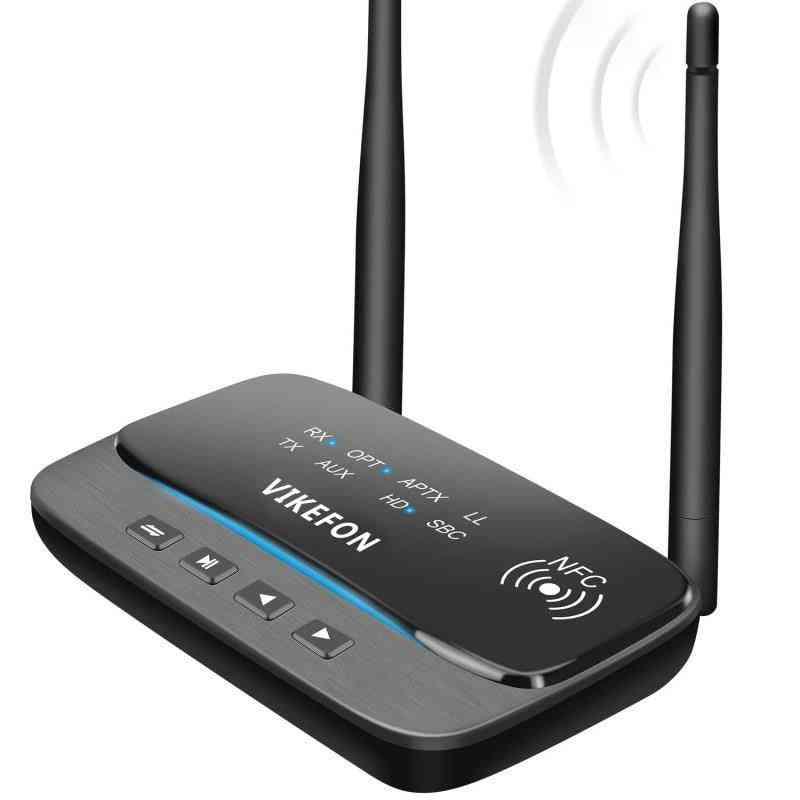 262ft/80m Long Range Bluetooth 5.0 Transmitter Receiver