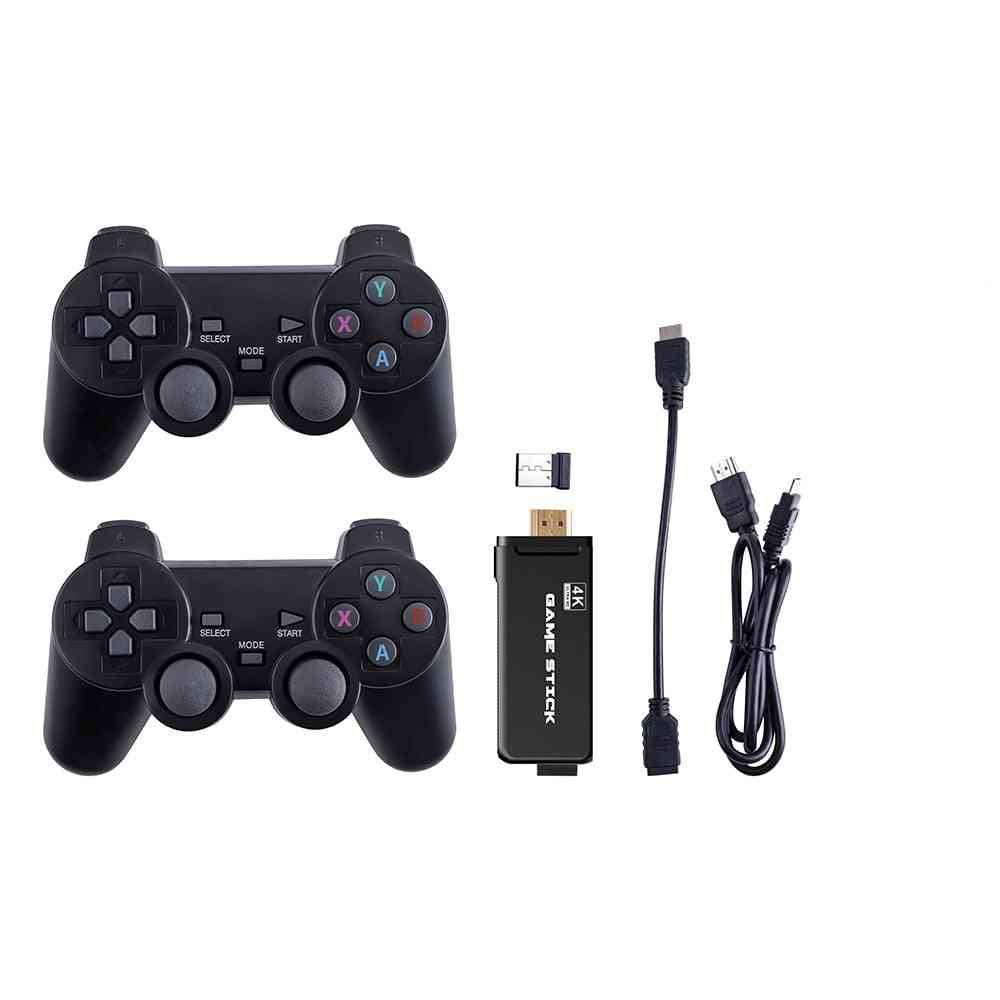 Hdmi Video Game Console - 2.4g Wireless Double Controller Gamepad