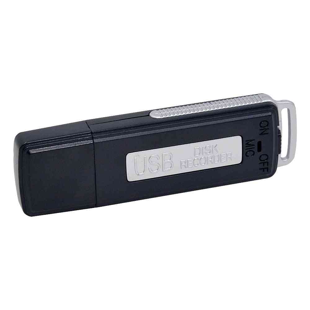 Usb Disk Digital Voice Recorder-8gb Mini Dictaphone