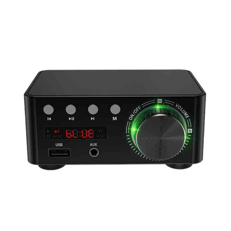 50w, 12v 5a  Mini Class D Amplifier With Usb Port