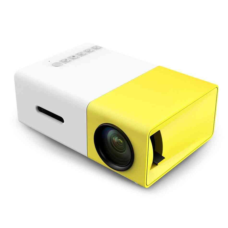 Mini Led/lcd, Hdmi Usb Projector With Remote