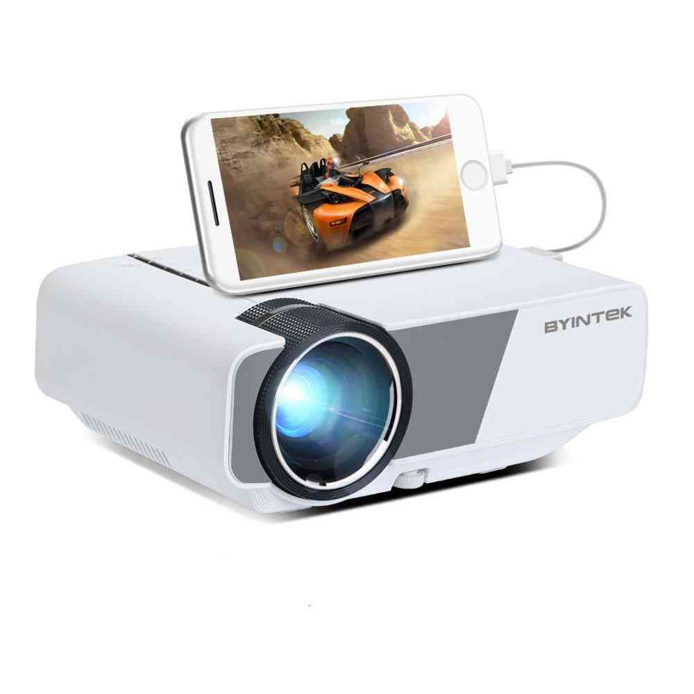 800*480 (wvga) Support To 1080p Mini Projector With 3 In 1 Av Cable And Remote Control