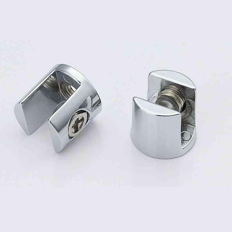 4pcs/lot Zinc Alloy Glass Clamp Bracket
