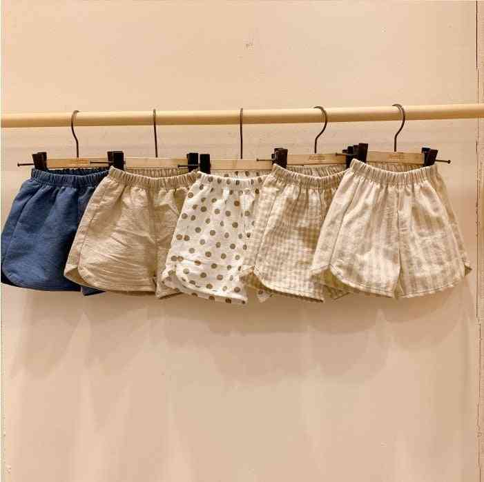 Children's Cotton Shorts, Summer -boys' And'  Clothes