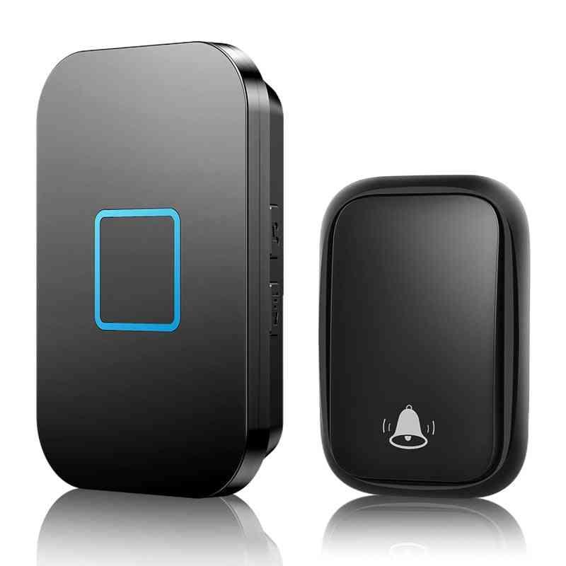 Self Powered Wireless Doorbell, Waterproof No Battery Required 150m Remotel