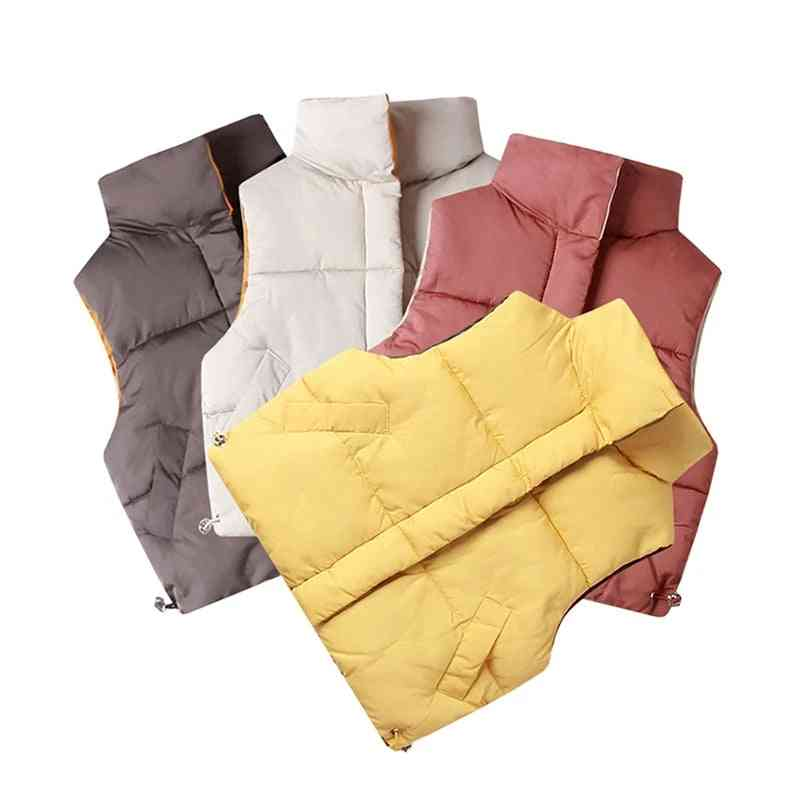 Autumn And Winter Vests Warm Coats