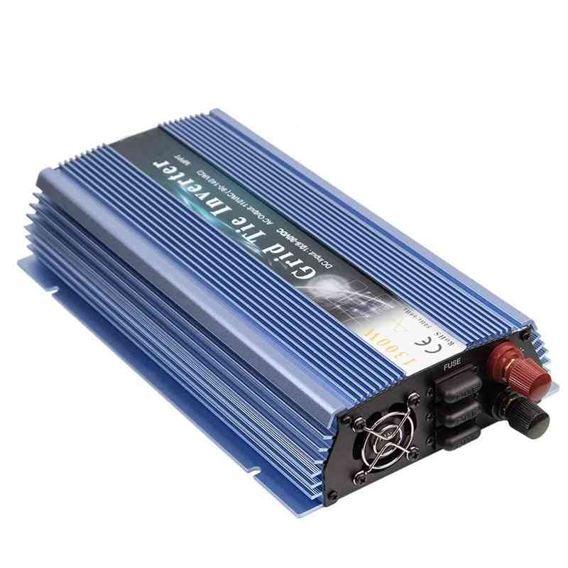 Micro Solar Inverter Mppt On Grid Tie Pure Sine Wave Dc To Ac For Wind Generator Battery