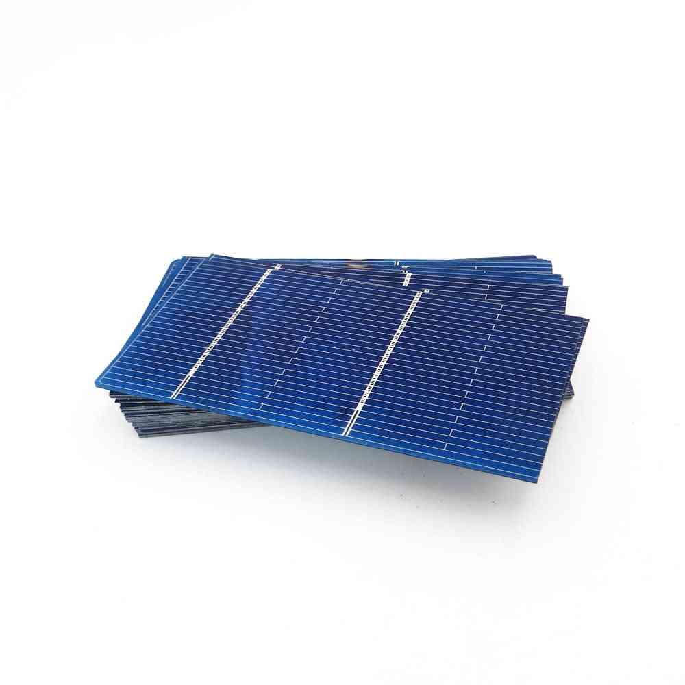 Solar Battery Charger Panel Diy Cells Polycrystalline Photovoltaic Module Power Connect