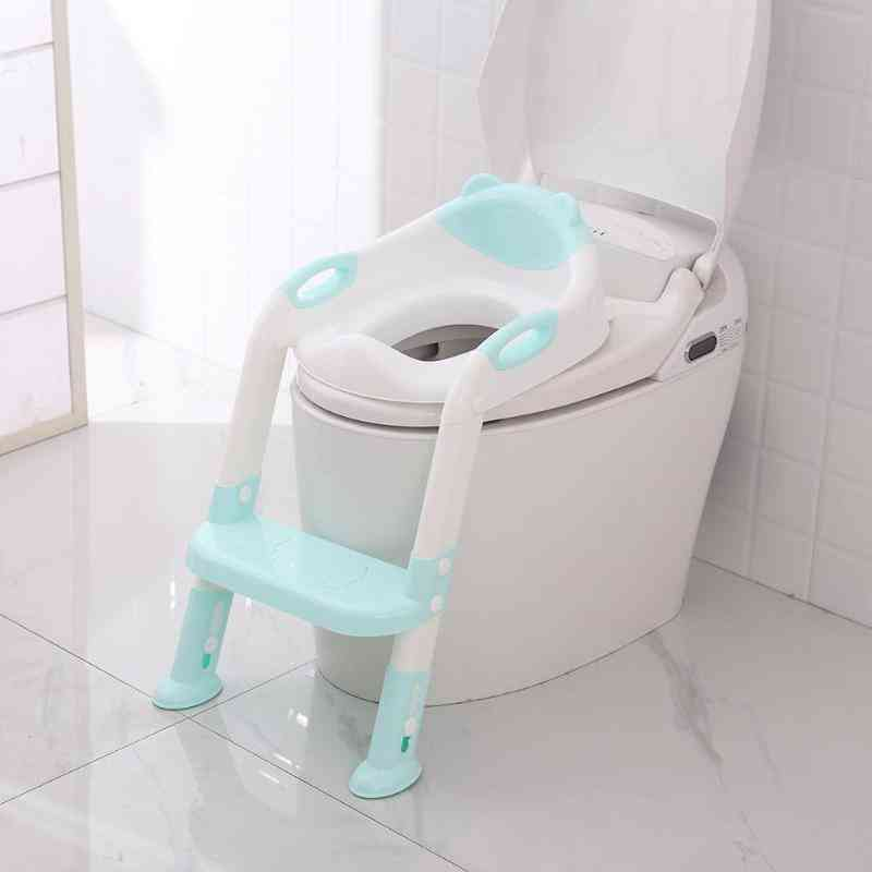 Baby Potty Training Seats, Infant Toilet With Adjustable Ladder