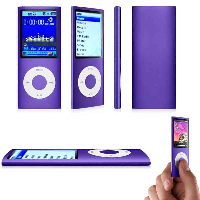 High Quality Battery Mp4 Player - 32gb / 16gb For Music Playing, Time 30 Hours