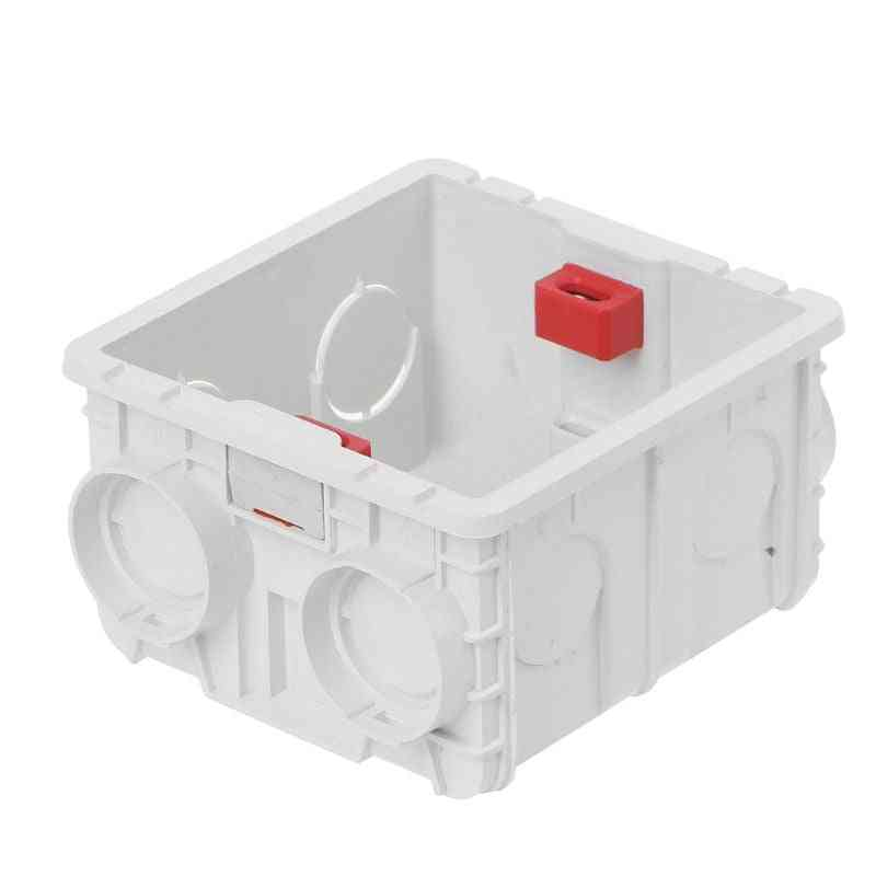 86-type Pvc Junction Box-wall Mountmswitch Socket Outlet